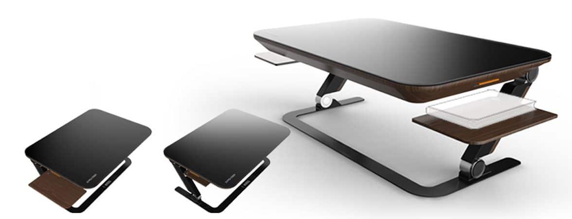 Mesa de oficina inteligente extensiones | Muebles de oficina Spacio