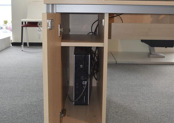 Mesas a medida cajonera | Muebles de oficina Spacio