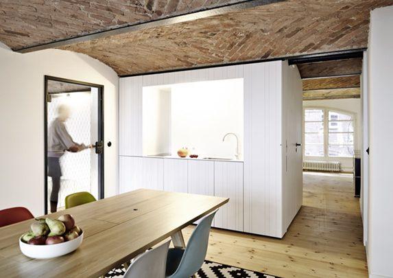 Mesas de oficina operativas cocina | Muebles de oficina Spacio