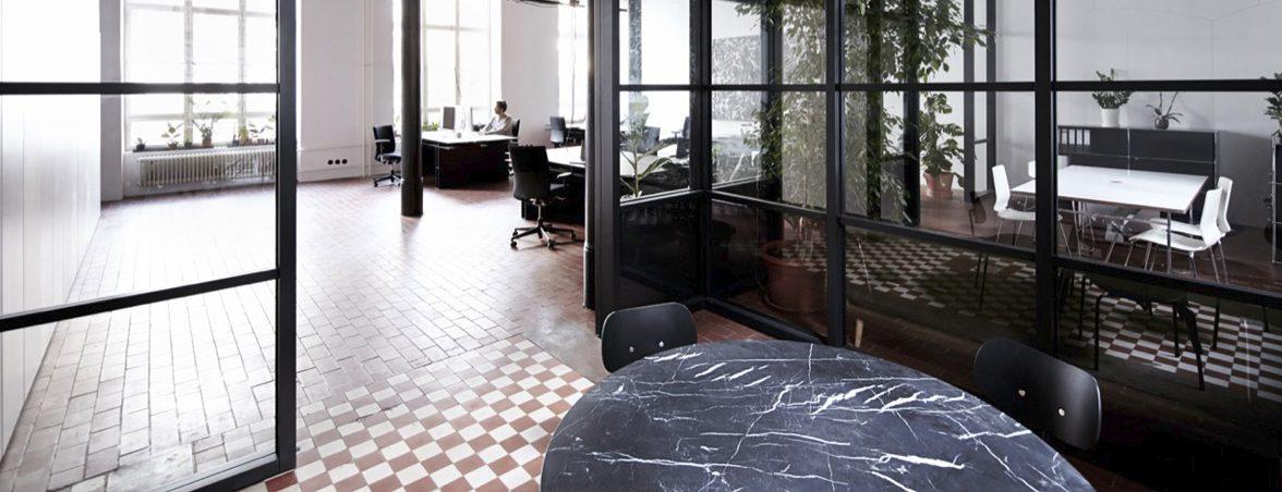 Mesas de oficina operativas sala reunión | Muebles de oficina Spacio