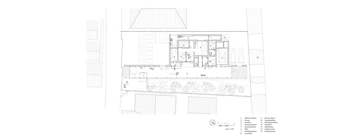 Mobiliario clínica plano | Muebles de oficina Spacio