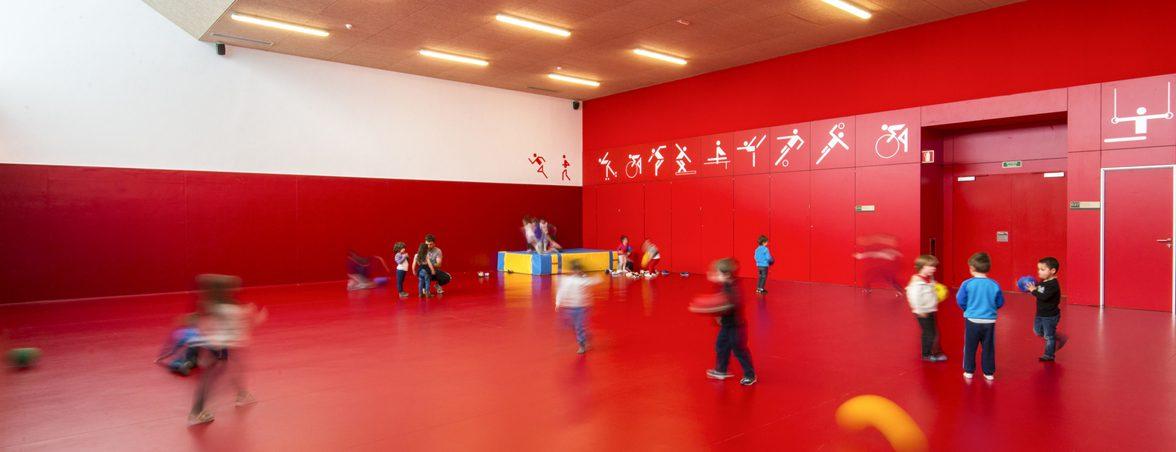 Mobiliario escolar infantil gimnasio | Muebles de oficina Spacio