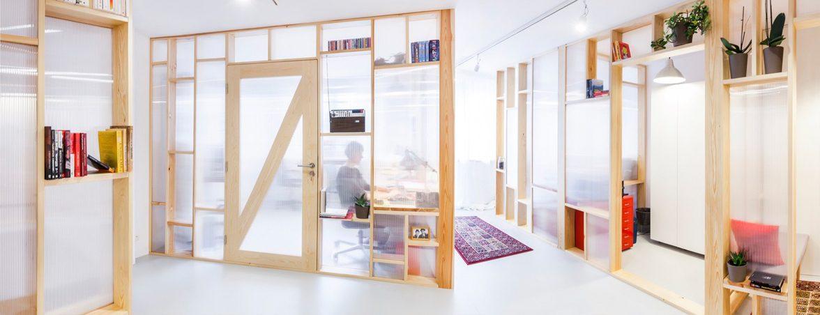 Mobiliario oficina económico panorámica | Muebles de oficina Spacio