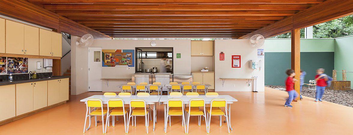 Mobiliario para aula estructura madera | Muebles de oficina Spacio