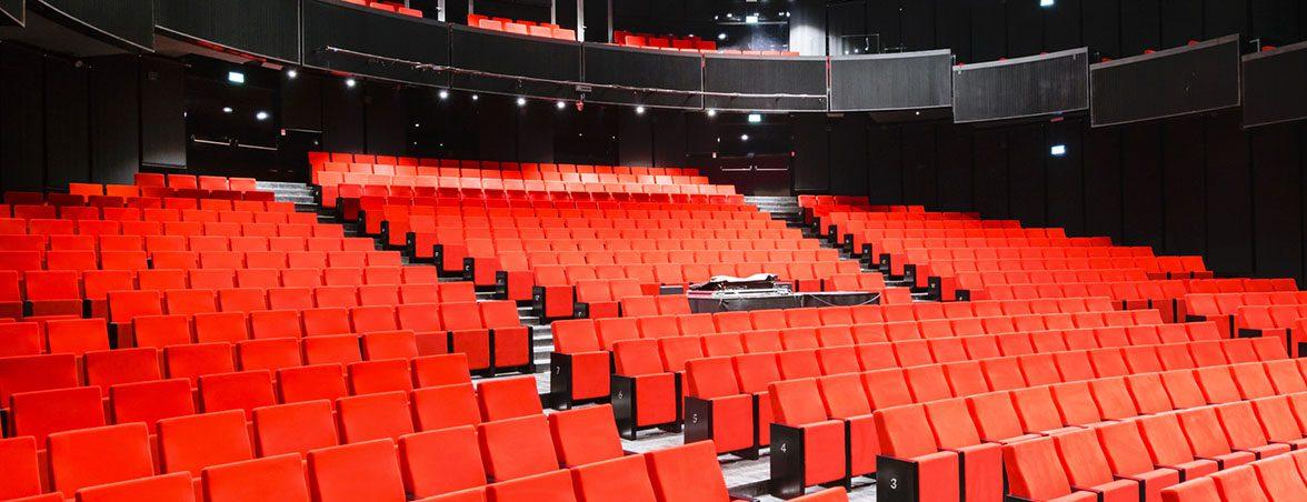 Mobiliario para teatro butacas | Muebles de oficina Spacio