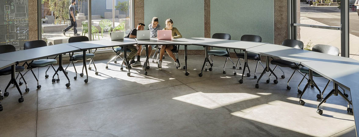 Muebles escolares zona estudio | Muebles de oficina Spacio