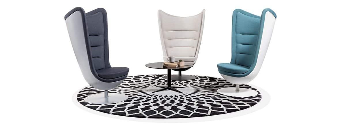 Nuevas oficinas Renault sillón Badminton | Muebles de oficina Spacio