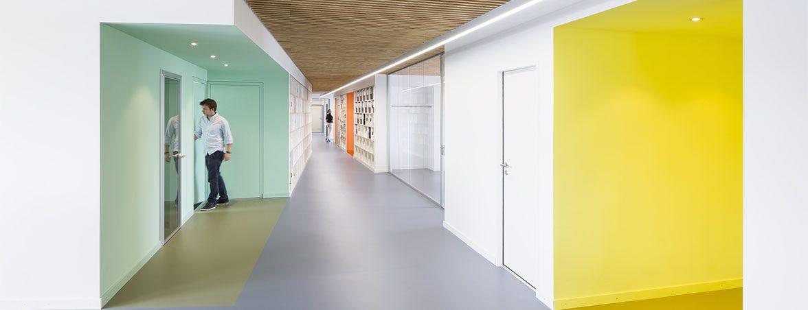 Oficina moderna FTI gama cromática | Muebles de oficina Spacio