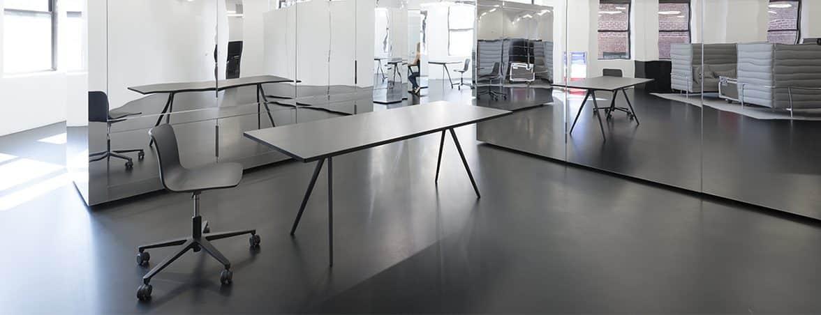 Oficina módulos espejo | Muebles de oficina Spacio