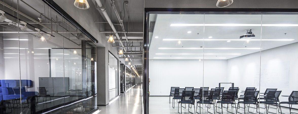 Oficina química mamparas oficina | Muebles de oficina Spacio