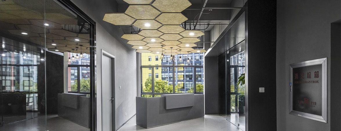 Oficina química paneles luminosos | Muebles de oficina Spacio