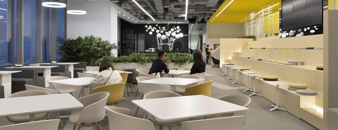 Oficinas Lego cafetería | Muebles de oficina Spacio
