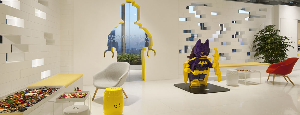 Oficinas Lego zona ocio | Muebles de oficina Spacio