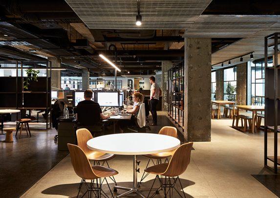 Oficinas de madera puestos | Muebles de oficina Spacio