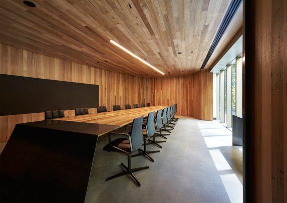Oficinas de madera sala juntas | Muebles de oficina Spacio