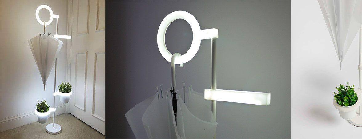 Paragüero ecológico Lov luz indirecta | Muebles de oficina Spacio