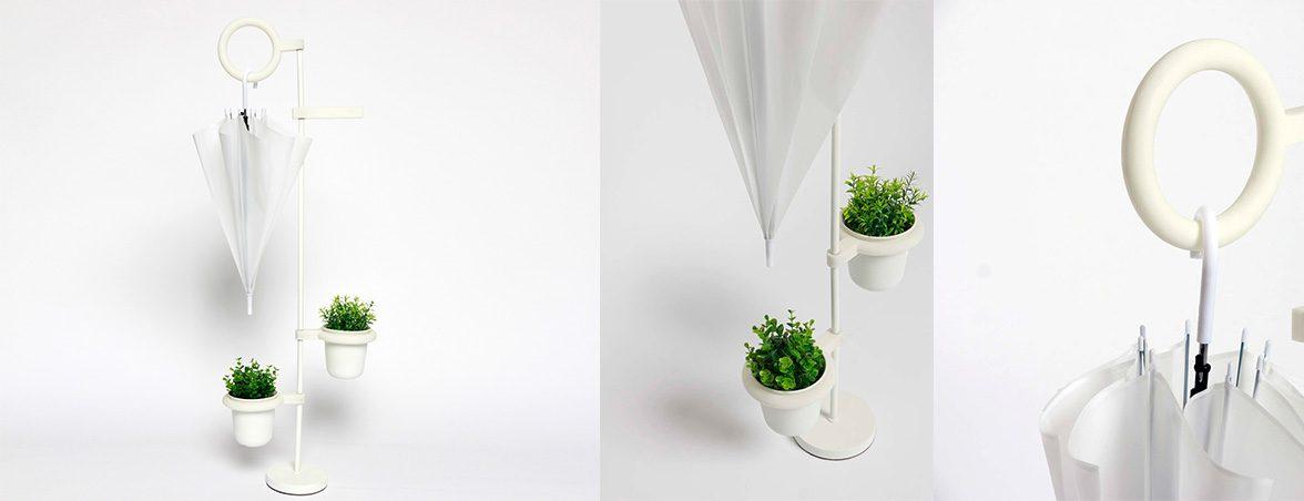 Paragüero ecológico Lov plantas | Muebles de oficina Spacio