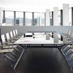 Silla apilable Ikara sala juntas | Muebles de oficina Spacio