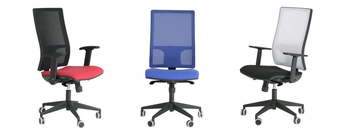 Silla ergon mica light personalizable muebles de oficina for Silla escolar ergonomica