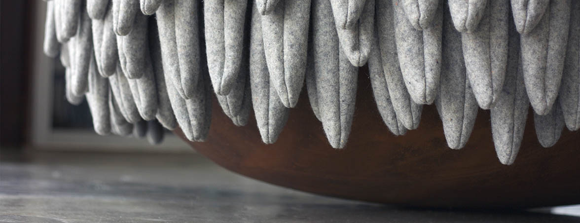 Silla nido Narl base esférica | Muebles de oficina Spacio
