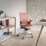 Silla oficina ergonómica 3.60 tapizado | Muebles de oficina Spacio