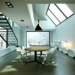 Silla para sala Cappa con mesa Drone | Muebles de oficina Spacio