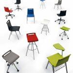 Sillas apilables Mit opciones | Muebles de oficina Spacio