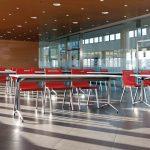 Sillas apilables Mit rojas | Muebles de oficina Spacio