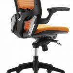 Sillas oficina ergonómicas Gioconda naranja | Muebles de oficina Spacio