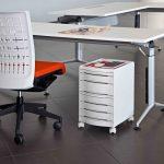 Sillas para escritorio Winner respaldo blanco | Muebles de oficina Spacio