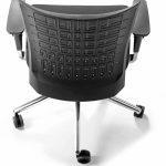 Sillas para escritorio Winner respaldo negro | Muebles de oficina Spacio