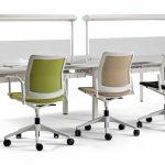 Sillas para sala Urban Plus puestos operativos | Muebles de oficina Spacio