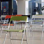 Sillas plegables Plek varios colores | Muebles de oficina Spacio
