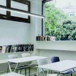 Sillas sala espera Eina en aula | Muebles de oficina Spacio