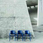 Sillas sala espera Eina en exterior | Muebles de oficina Spacio
