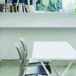 Sillas sala espera Eina polipropileno | Muebles de oficina Spacio