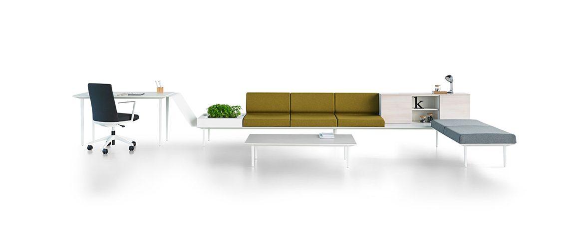 Sofás de espera Longo portada | Muebles de oficina Spacio