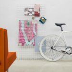 Sofás de espera Longo tapizado naranja | Muebles de oficina Spacio