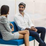 Sofás de espera Longo turquesa | Muebles de oficina Spacio