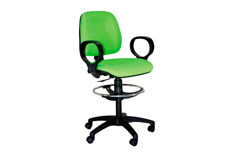 Taburete con respaldo Medical listado | Muebles de oficina Spacio