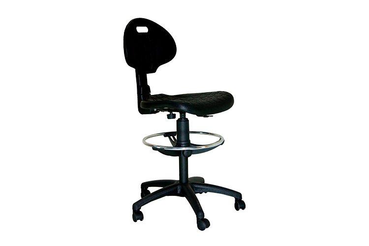 Taburete con ruedas Sonia listado | Muebles de oficina Spacio