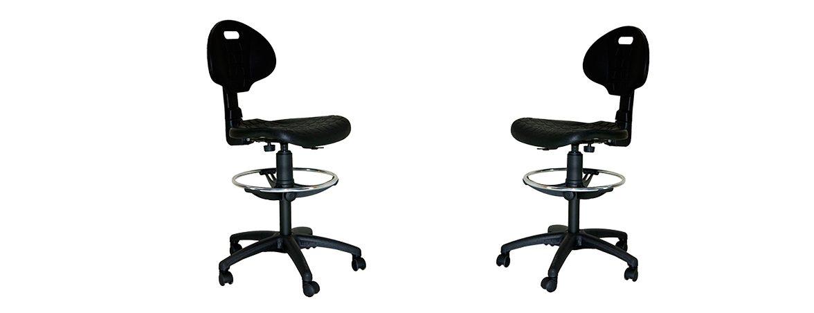 Taburete con ruedas Sonia portada | Muebles de oficina Spacio