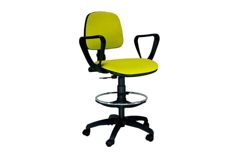 Taburete de oficina Saldaña listado | Muebles de oficina Spacio