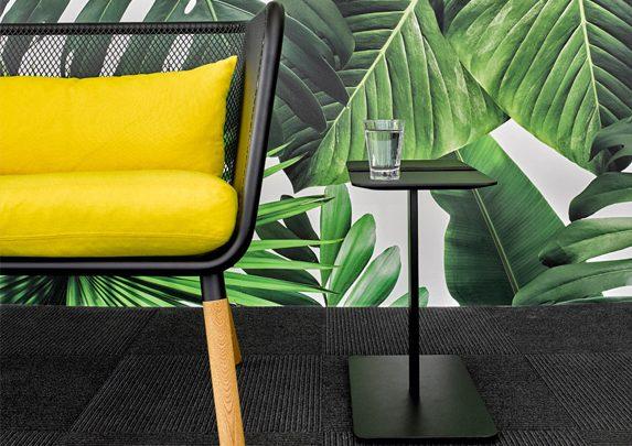 Zonas comunes en oficinas fondo plantas | Muebles de oficina Spacio