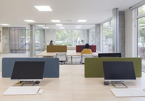 Decoración oficina Digitales puestos operativos | Muebles de oficina Spacio