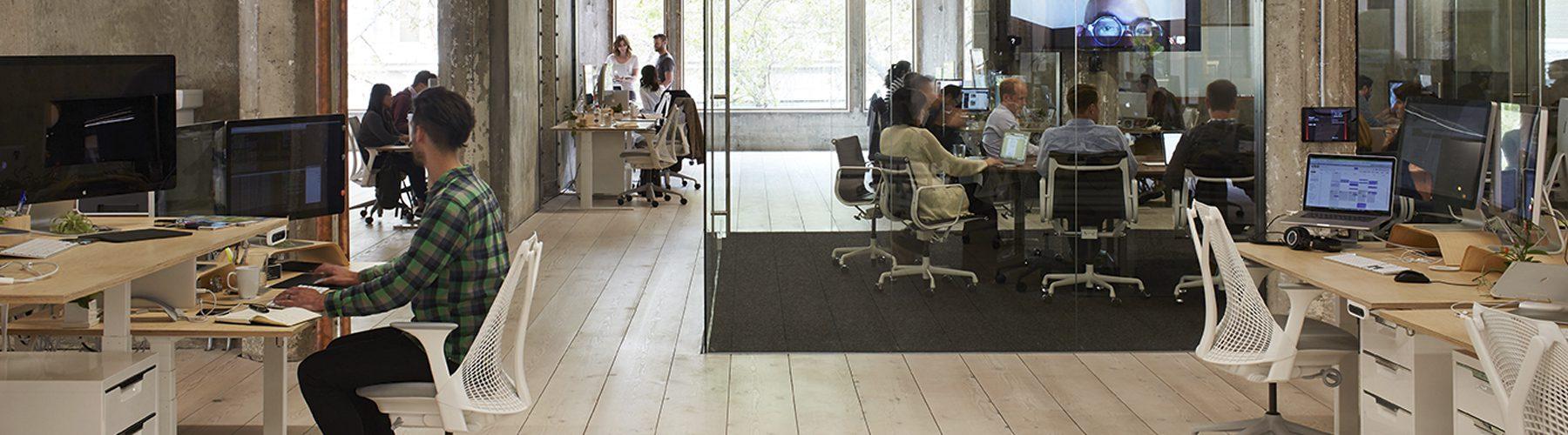 Decoración oficina VSCO espacio abierto | Muebles de oficina Spacio
