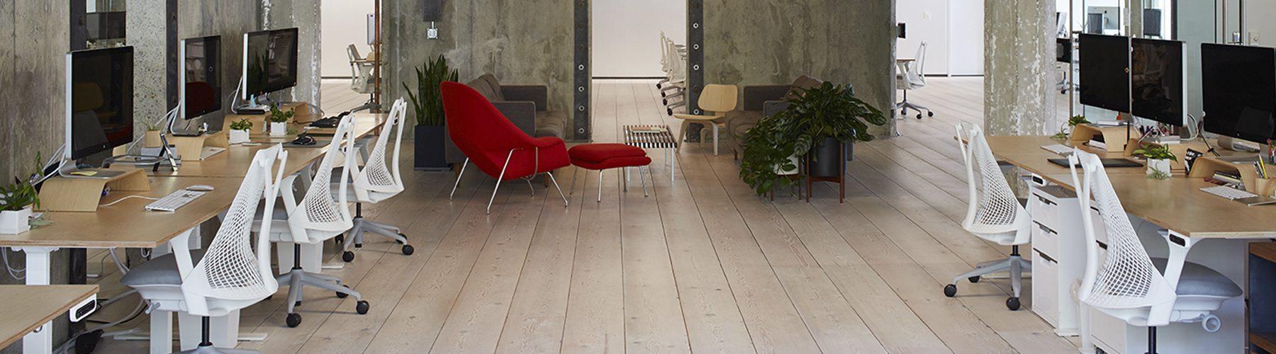 Decoración oficina VSCO planta | Muebles de oficina Spacio