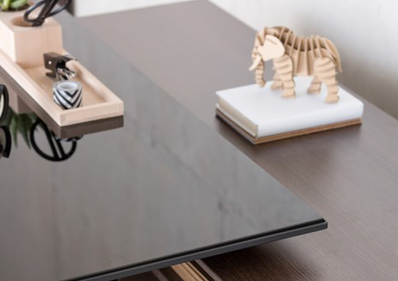 Escritorio de oficina detalle | Muebles de oficina Spacio