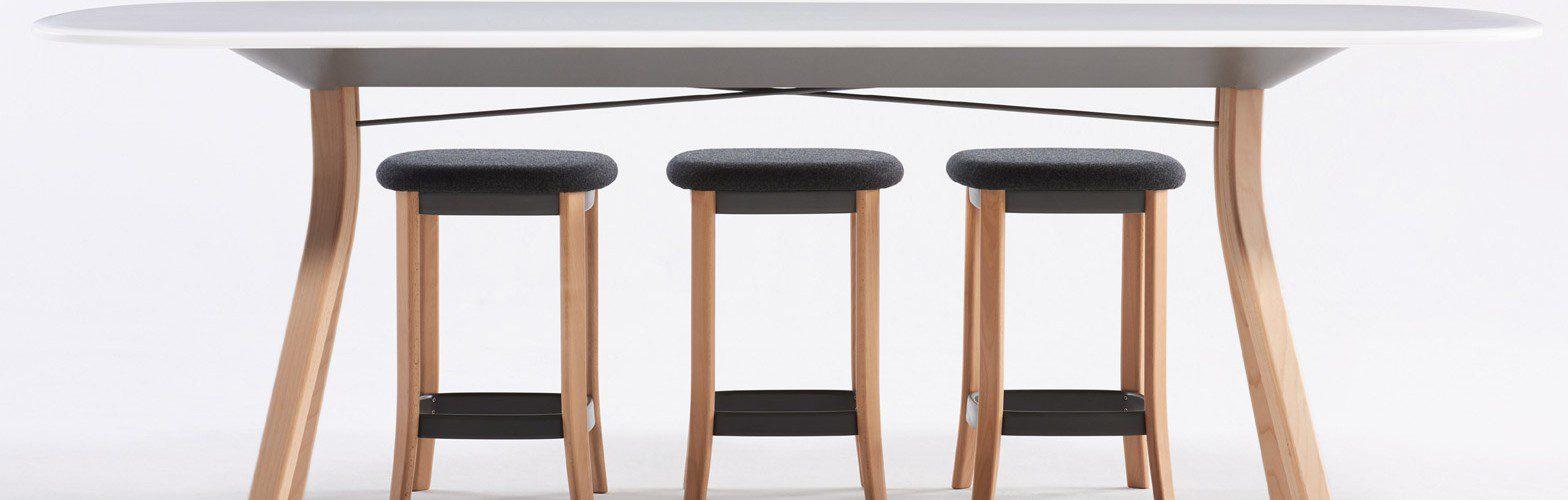 Evolución del mobiliario de oficina taburetes | Muebles de oficina Spacio