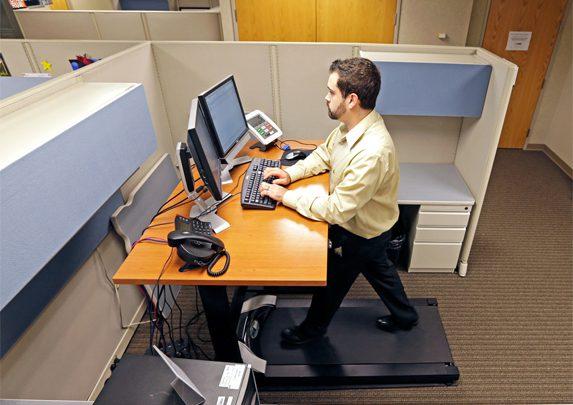 Mesas de oficina dinámicas cinta | Muebles de oficina Spacio